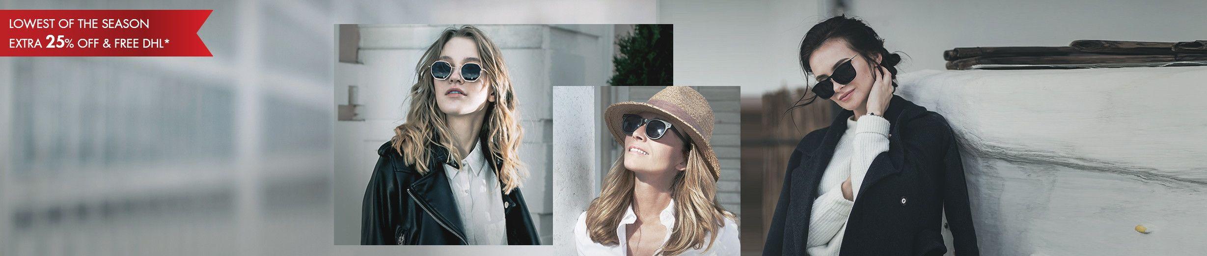Glassesgallery - women sunglasses banner