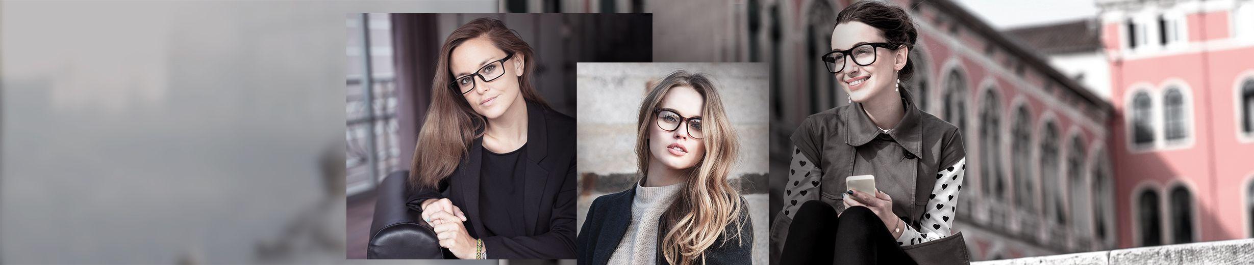 Glassesgallery - Women glasses banner