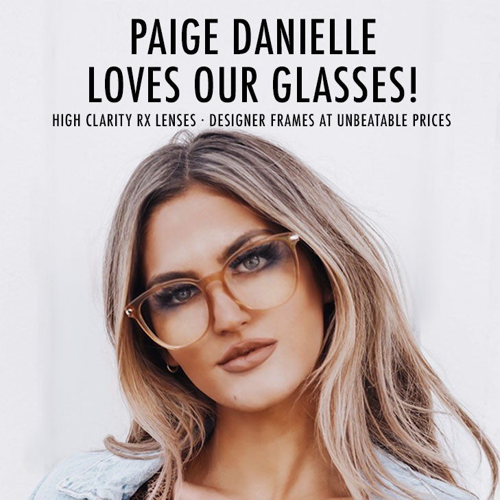 Luxury Eyewear at Everyday Prices. Check out our latest collection of designer frames with top quality prescription lenses.